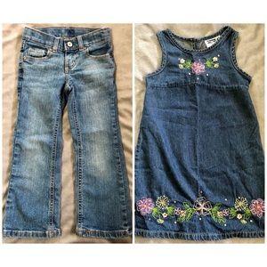Other - Sonoma Bootcut Jeans & Speechless Dress, SZ 4, EUC